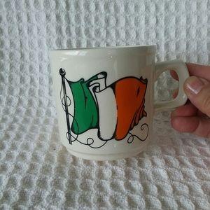 Carrigdhoun Co-op Irish Flag & Clover Cup